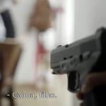 Vídeo divulgado por Haddad carrega tom e mostra criança com arma e 'tiro' no
