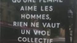Cette campagne choc contre l'homophobie déployée en France passe