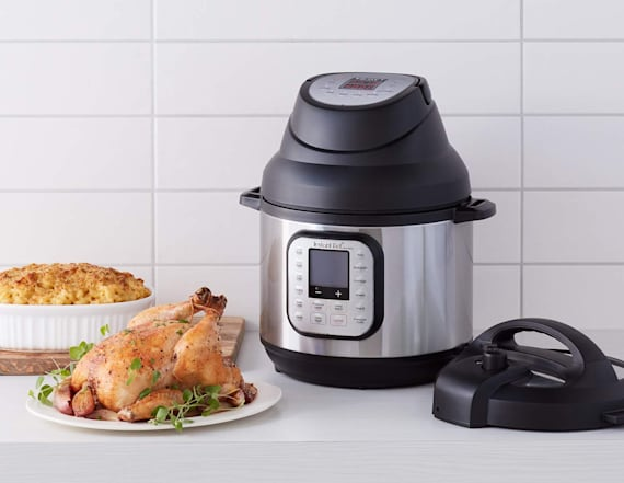 This lid can turn an Instant Pot into an air fryer