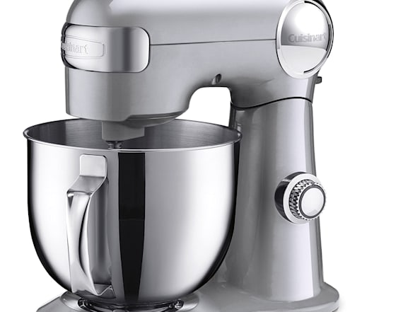 Enter for a chance to win a Cuisinart stand mixer