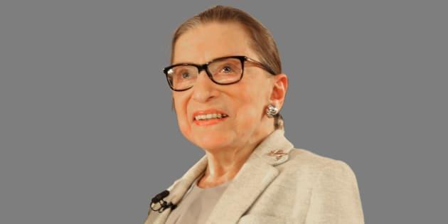 Ruth Bader Ginsburg, juge coqueluche des anti-trump, incarnée par Felicity Jones