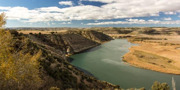 Embalse de Almoguera (Río Tajo, Guadalajara, Castilla-La Mancha)