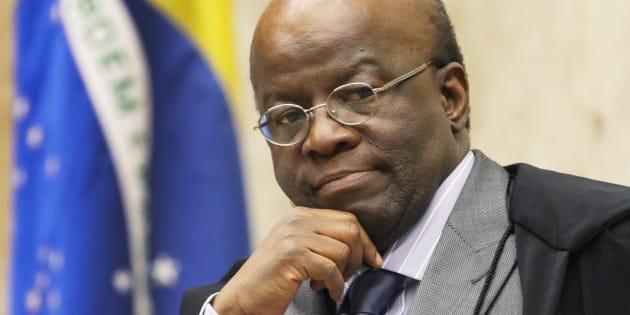 Ministro aposentado do STF, Joaquim Barbosa se filiou ao PSB em 7 de abril.