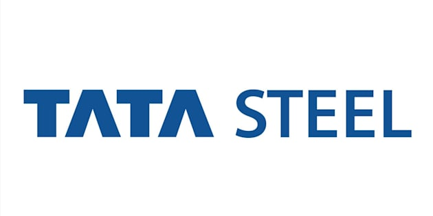 TATA STEEL logo, Indian steel company, graphic element on white