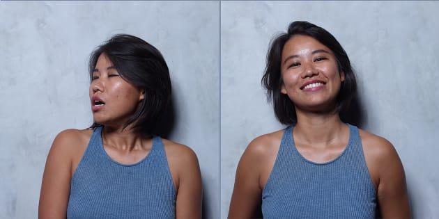 Contre la méconnaissance du plaisir féminin, il photographie des femmes avant, pendant, et après un orgasme