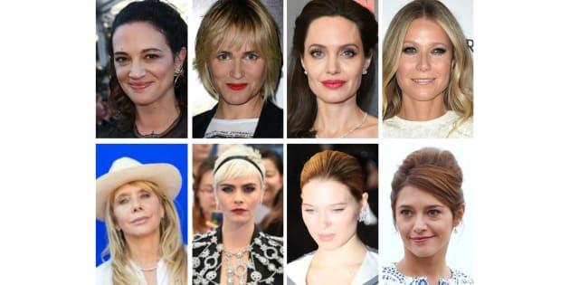 Parmi les victimes de Harvey Weinstein: Asia Argento, Judith Godreche, Angelina Jolie, Gwyneth Paltrow, Rosanna Arquette, Cara Delevingne, Léa Seydoux, Emma de Caunes...