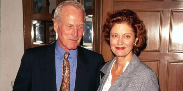Susan Sarandon recordó a Paul Newman como