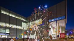 «KM3», de l'art public à ciel