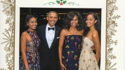 La última carta de Navidad de los Obama desde la Casa
