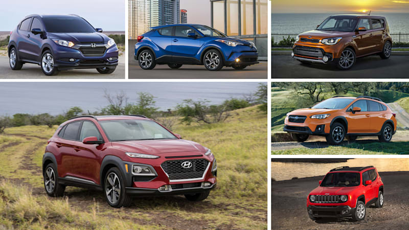 2018 Hyundai Kona Vs Other Small Crossovers How They Compare On Paper