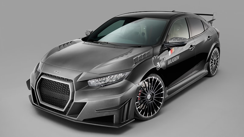 Mugen Honda Civic Type R arrives, but look at that face