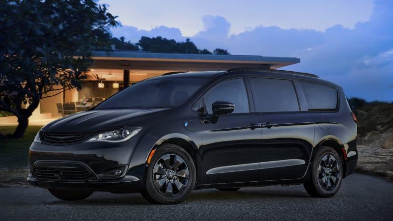 Pacifica Hybrid Forum >> 2019 Chrysler Pacifica Hybrid Minivan Gets Sinister S Package