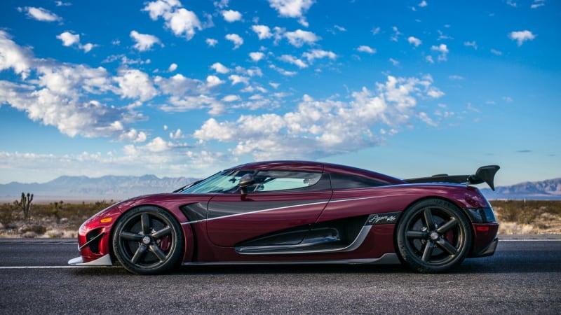 Christian Von Koenigsegg At The Detroit Auto Show Talks About The