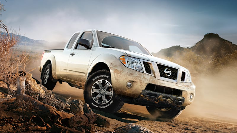 2021 Nissan Frontier pickup truck to get new styling and V6