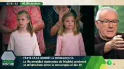 El llamativo término con el que Cayo Lara se ha referido a la princesa Leonor en 'LaSexta