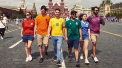 La genial idea de estos seis jóvenes para colar la bandera gay en