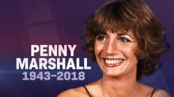 La réalisatrice Penny Marshall est