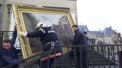 Détachés dans les musées nationaux, ces pompiers doivent savoir quelles œuvres sauver en