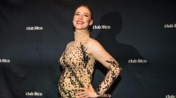Le style de Karine Vanasse enceinte est