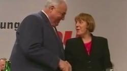 Les relations conflictuelles d'Helmut Kohl et Angela