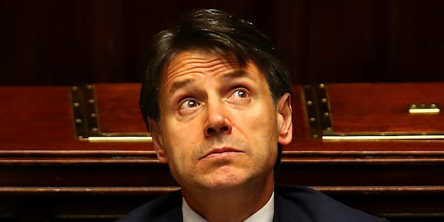 Italian Prime Minister Giuseppe Conte looks on during his first session at the Lower House of the Parliament in Rome, Italy, June 6, 2018. REUTERS/Tony Gentile