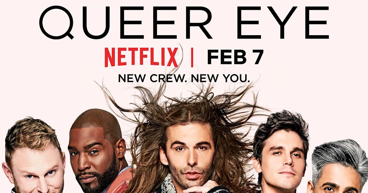 Image result for queer eye poster netflix