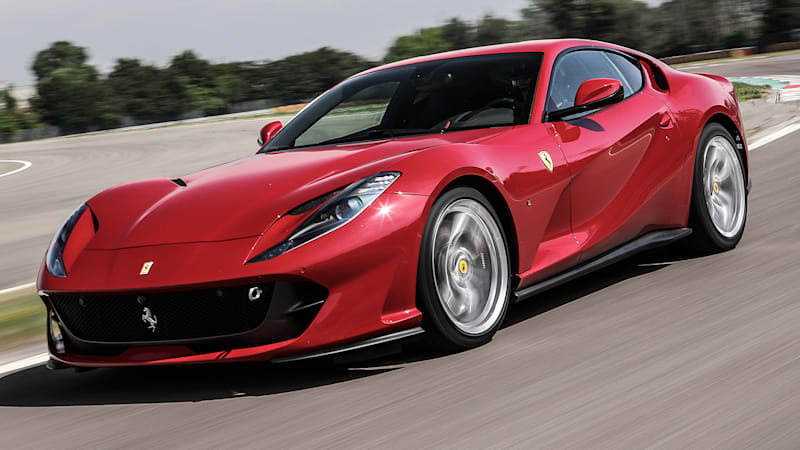 2018 ferrari lineup. beautiful lineup living up to its name  2018 ferrari 812 superfast first drive  autoblog inside ferrari lineup