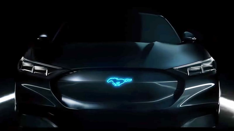 Ford Has Said A Hybrid Mustang Is Coming In 2020 And We Might Have Just Gotten Our First Teaser For That Car New Commercial The Blue Oval