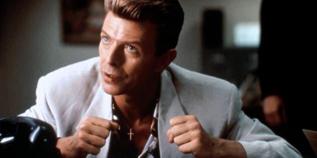 """David Bowie incarnait l'agentPhillip Jeffries dans """"Twin Peaks: Fire Walk With Me"""" de David Lynch."""