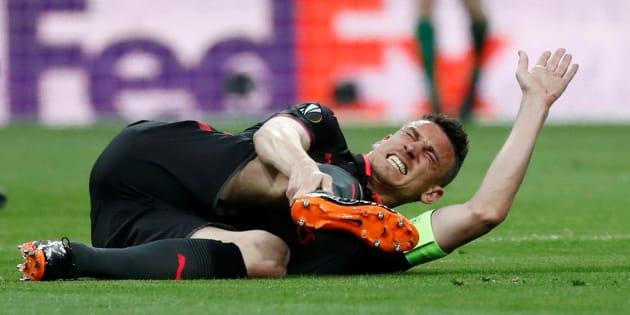 Laurent Koscielny est forfait pour la coupe du Monde après sa blessure au tendon d'Achille.