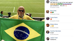 Brasileiros descobrem rede social de 'torcedor misterioso' e ele garante que apoiará o