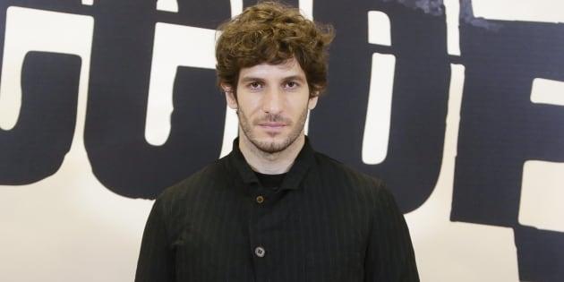 El actor Quim Guitiérrez durante la presentación de la serie 'El accidente'.