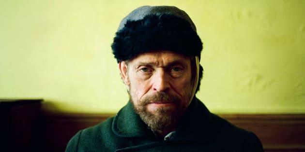 Willem Dafoe sobre Van Gogh: 'Ele era inspirador e lúcido sobre o que falava'.