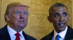 El pleito Trump-Obama no para, ¿Obama intervino su