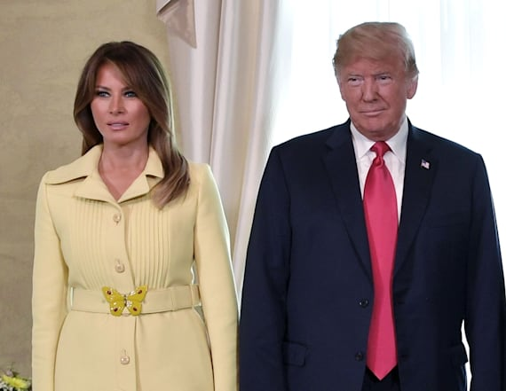 Melania wears $3,700 Gucci jacket in Helsinki