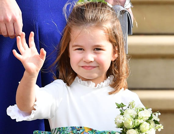 Charlotte is a 'replica' of queen in wedding pics