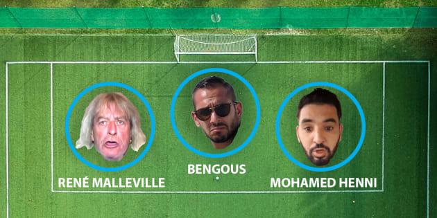 PSG-OM: ce trio d'internautes supporters de Marseille n'a pas d'équivalent à Paris sur les réseaux sociaux