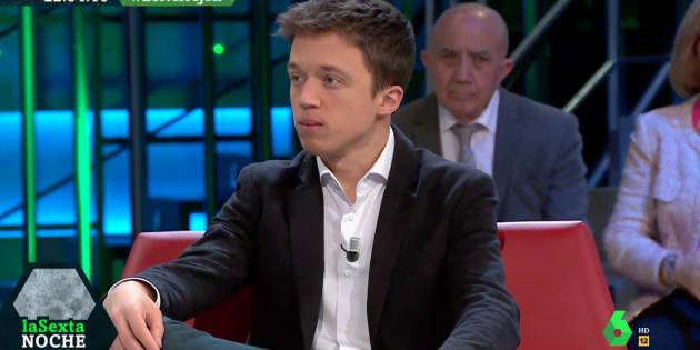 Íñigo Errejón en 'LaSexta Noche'.
