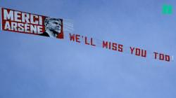 Les images de l'hommage à Arsène Wenger pour son dernier match avec