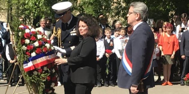 Jean-Luc Mélenchon a commémoré le 8 Mai 1945 en Russie.