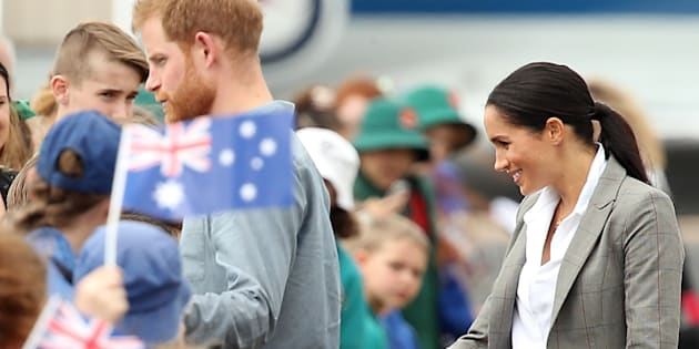 Meghan Markle Wore A Serena Williams Jacket On Day 2 Of Royal Tour