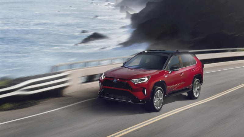 2021 Toyota RAV4 Prime has 302 hp, 5.8-second 0-60 time, 39-mile electric range