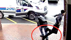 Badass Grandpa Uses Fancy Footwork To Trip Armed Suspect Fleeing From