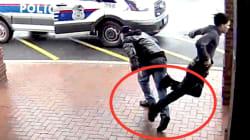 Un grand-père aide la police à arrêter un suspect à l'aide d'une jambette