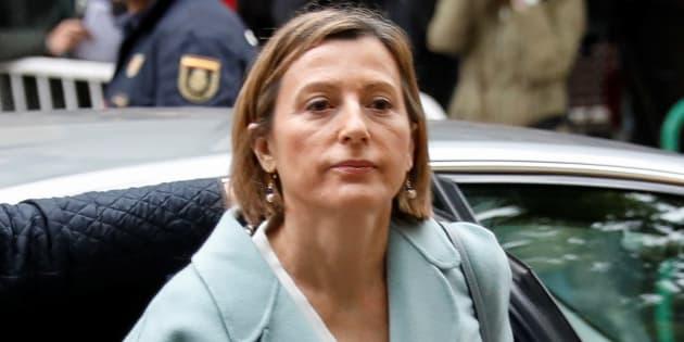 La présidente du parlement catalan, Carme Forcadell.