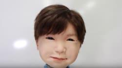 リアルな表情が... 子供の頭部ロボット「Affetto」が不気味すぎてヤバい