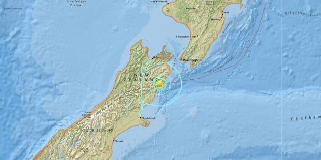 Un séisme de magnitude 7,8 a secoué la Nouvelle-Zélande dimanche 13 novembre 2016.