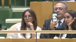 Pendant que le président de l'Azerbaïdjan parle crimes de guerre à l'ONU, sa fille prend des