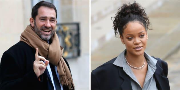 Christophe Castaner dresse le portrait de Rihanna et fait son mea culpa