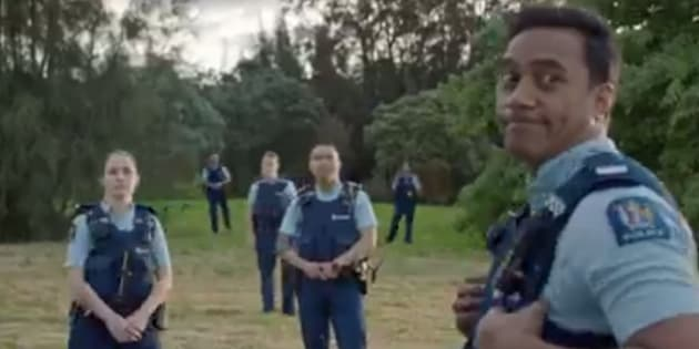 Police release hilarious recruitment video